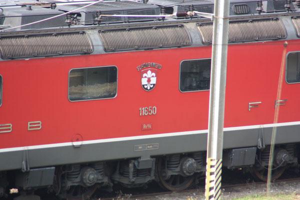 """Re 6/6 11650 """"Schönenwerd"""", Bellinzona (06.05.2011) ©pannerrail.com"""