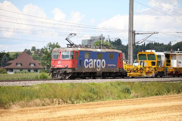 Re 4/4, 11356 (430 356-6 Cargo), Rubigen (14.07.2017) ©pannerrail.com