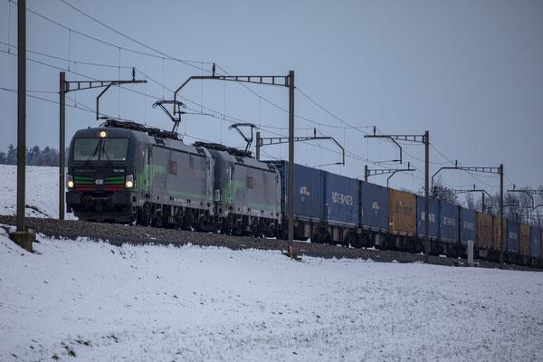 SBB Cargo International (ELL), BR 193 258, Sins (12.01.2019) ©pannerrail.com
