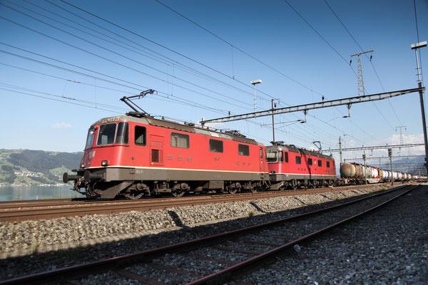 Re 4/4, 11340, Immensee (05.09.2013) ©pannerrail.com