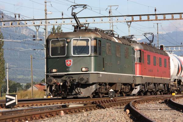 Re 4/4, 11309, Sargans (16.08.2011) ©pannerrail.com
