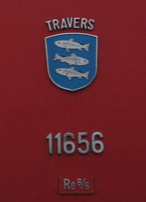 Wappen Travers