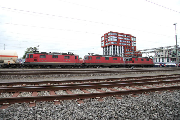 Re 4/4, 11316, Rotkreuz (08.08.2013) ©pannerrail.com