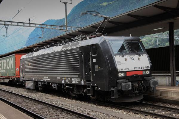 MRCE Dispolok BR 189 ES 64 F4-098, Erstfeld (03.08.2013) ©pannerrail.com