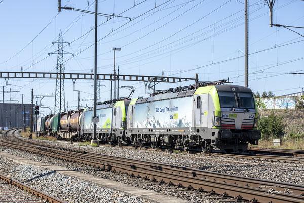 """BLS Re 475 402 """"Die Alpinisten"""", Pratteln (10.09.2020) ©pannerrail.com"""