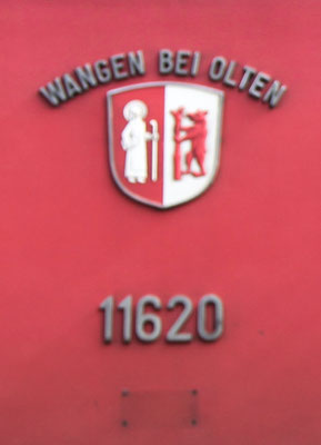 Wappen Wangen bei Olten