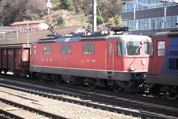 Re 4/4, 11179, Bellinzona (12.03.2014) ©pannerrail.com