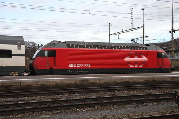 "Re 460 110-0 ""Mariaberg"" , Killwangen, 28.12.2012 (©pannerrail.com)"
