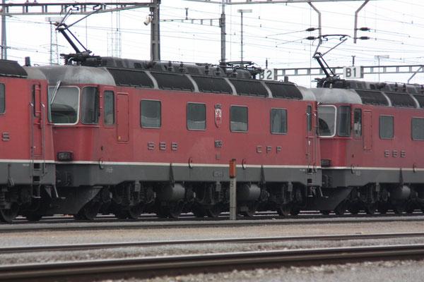 """Re 6/6 11635 """"Muttenz"""", Rotkreuz (15.06.2010) ©pannerrail.com"""