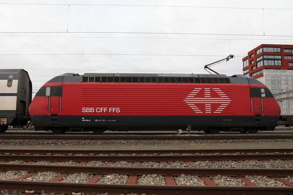 """Re 460 094-6 """"Rätia"""", Rotkreuz, 28.12.2012 (©pannerrail.com)"""