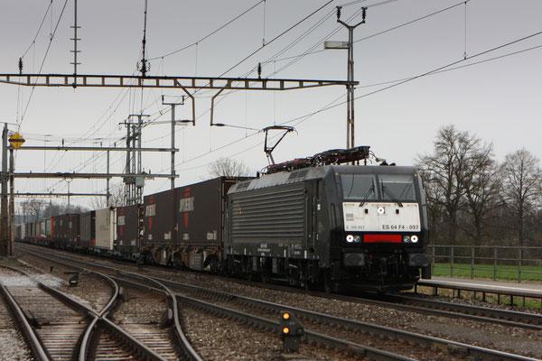 Dispolok BR 189 ES 64 F4-097, Oberrüti (04.04.2012) ©pannerrail.com