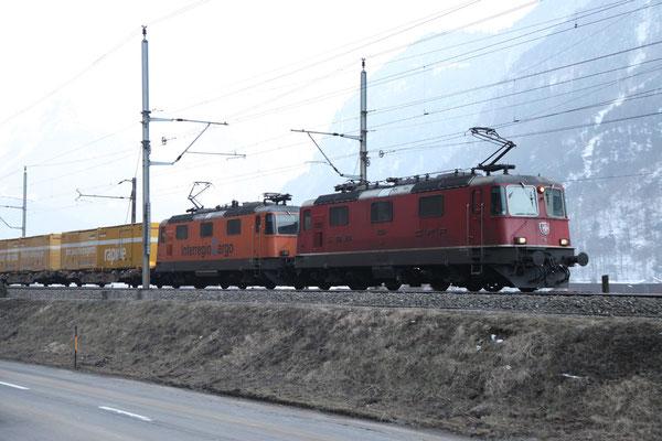 Re 4/4, 11249, Erstfeld (28.02.2012) ©pannerrail.com