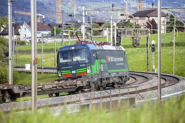 SBB Cargo International (ELL), BR 193 257, Rotkreuz (Datum unbekannt) ©pannerrail.com