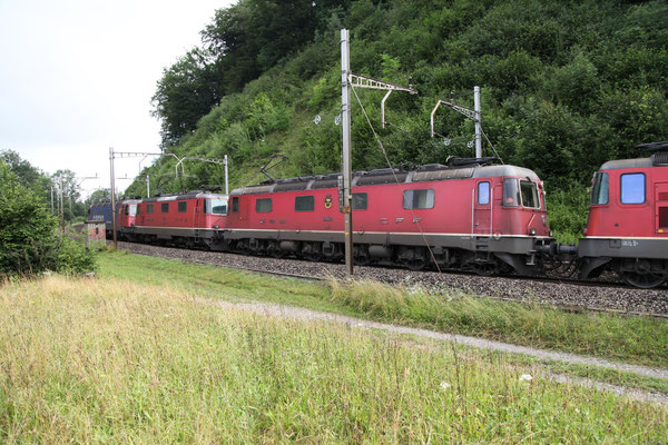 "Re 6/6 11648 ""Aigle"", Rotkreuz (07.07.2012) ©pannerrail.com"