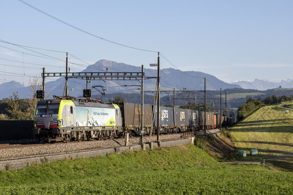 """BLS Re 475 408 """"Die Alpinisten"""", Sins (03.09.2020) ©pannerrail.com"""
