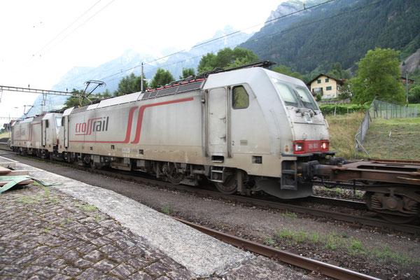 Crossrail, BR 186 903, Amsteg-Silenen (03.08.2013) ©pannerrail.com