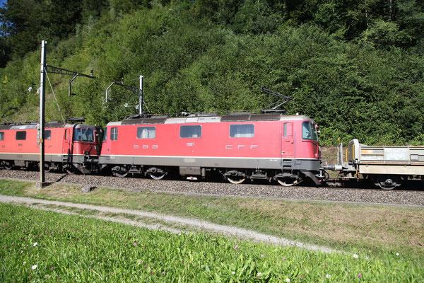Re 4/4, 11189, Rotkreuz (03.09.2013) ©pannerrail.com