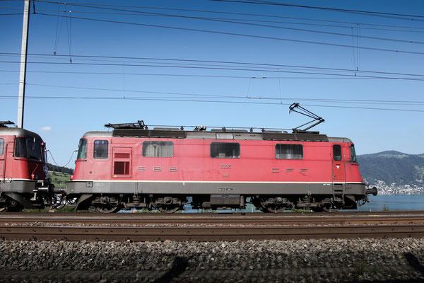 Re 4/4, 11335, Immensee (05.09.2013) ©pannerrail.com