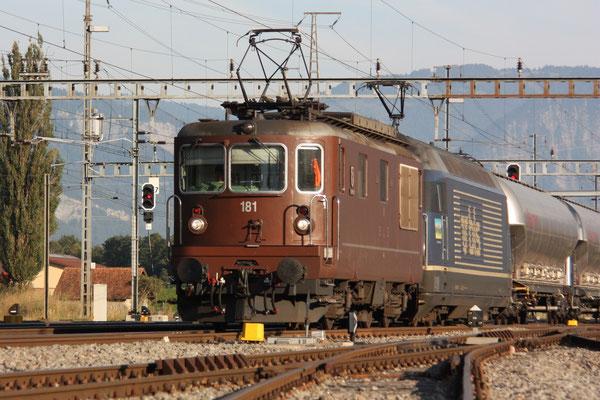 "BLS Re 465 017-2, ""Schrattenflue"", Sargans (16.09.2011) ©pannerrail.com"