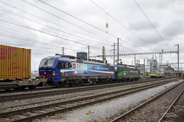 "SBB Cargo International, BR 193 518 ""Ticino"", Pratteln (04.07.2021) ©pannerrail.com"