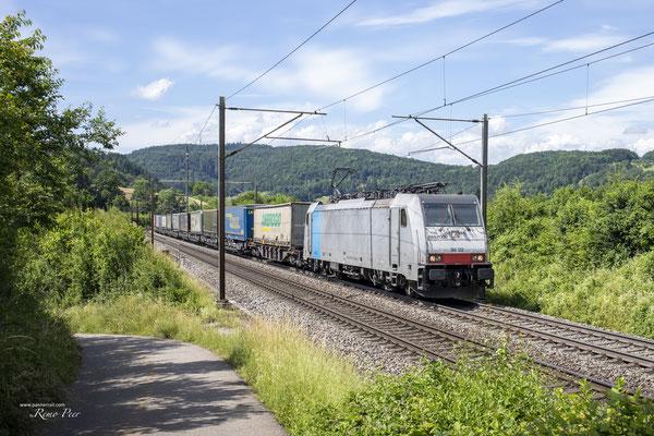 Railpool BR 186 102, Hornussen (27.06.2021) ©pannerrail.com