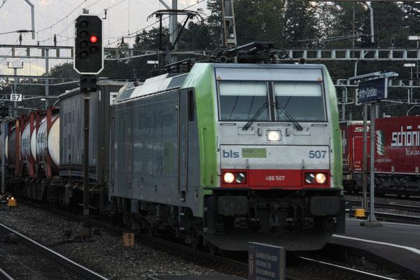 BLS Re 486 507, Arth-Goldau (19.09.2010) ©pannerrail.com