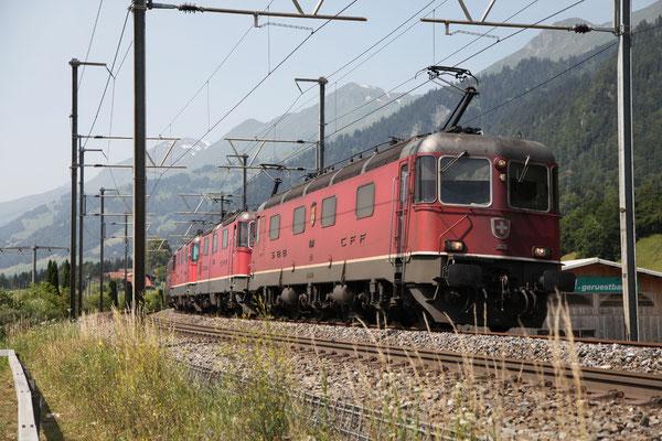 "Re 6/6 11685 ""Immensee"", Kandersteg (30.06.2012) ©pannerrail.com"