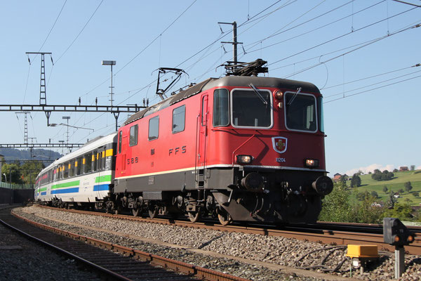 Re 4/4, 11204, Immensee (05.09.2013) ©pannerrail.com