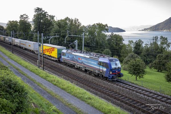 "SBB Cargo International, BR 193 517 ""Adda"", Immensee (10.09.2020) ©pannerrail.com"