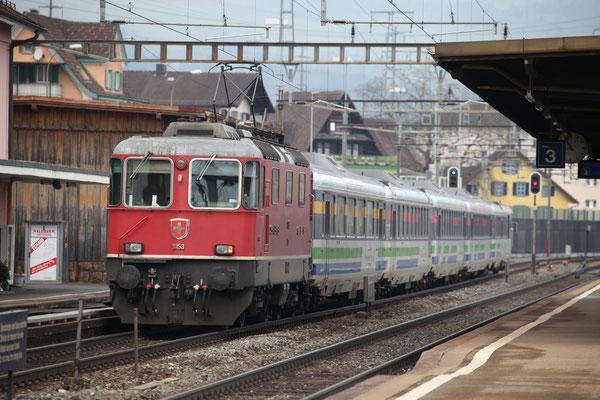 Re 4/4, 11153, Immensee (09.03.2013) ©pannerrail.com