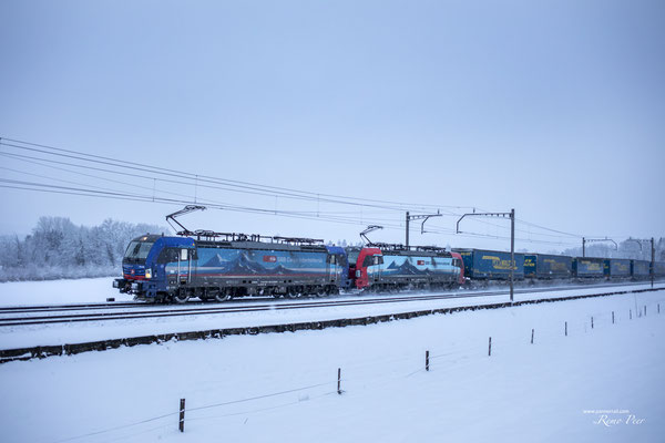 """SBB Cargo International, BR 193 526 """"Maas"""", Rotkreuz (Jan 2021) ©pannerrail.com"""