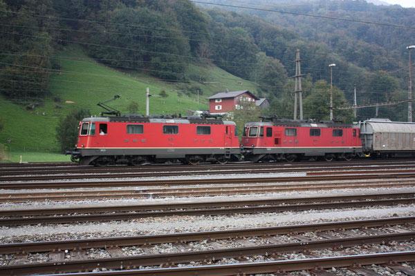 Re 4/4, 11179, Ziegelbrücke (29.09.2011) ©pannerrail.com