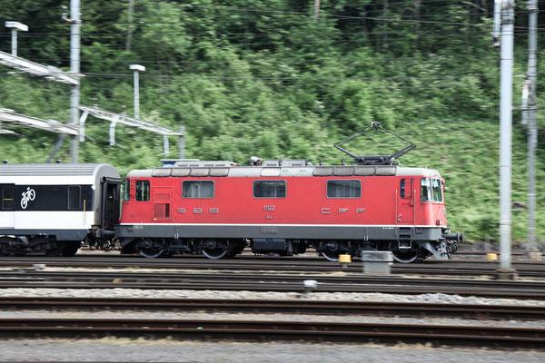 Re 4/4, 11122, Arth-Goldau (15.06.2013) ©pannerrail.com