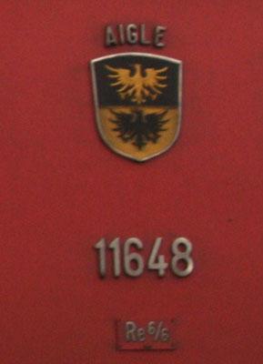 Wappen Aigle