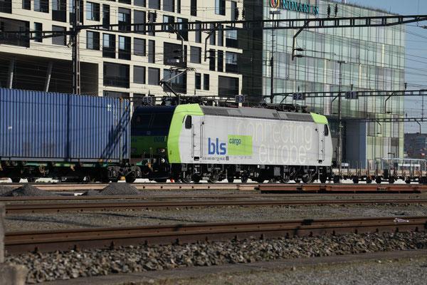 BLS Re 485 008-7, Rotkreuz (20.03.2014) ©pannerrail.com