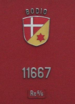 Wappen Bodio