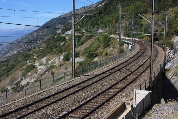 "BLS Wanderweg ""Lötschberger"" - Luogelkin-Viadukt Fahrebene"