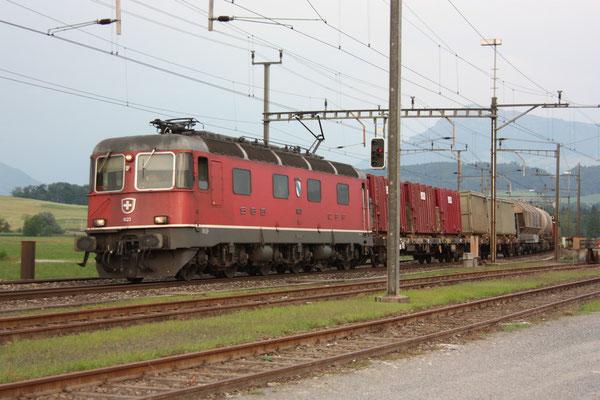 """Re 6/6 11623 """"Rupperswil"""", Oberrüti (21.07.2010) ©pannerrail.com"""