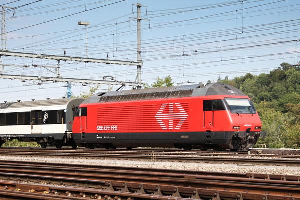 """Re 460 012-8 """"Erguël"""", Killwangen, 06.09.2013 (©pannerrail.com)"""