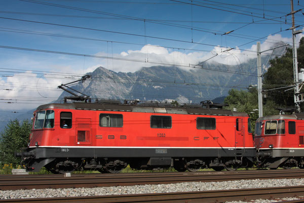 Re 4/4, 11353, Sargans (16.08.2011) ©pannerrail.com