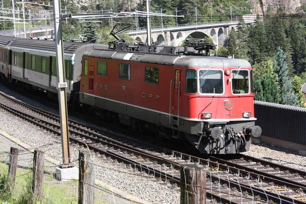 Re 4/4, 11192, Wassen (10.09.2011) ©pannerrail.com