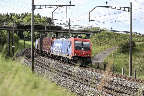 SBB Re 484 004-7, Mühlau (30.04.2020) ©pannerrail.com