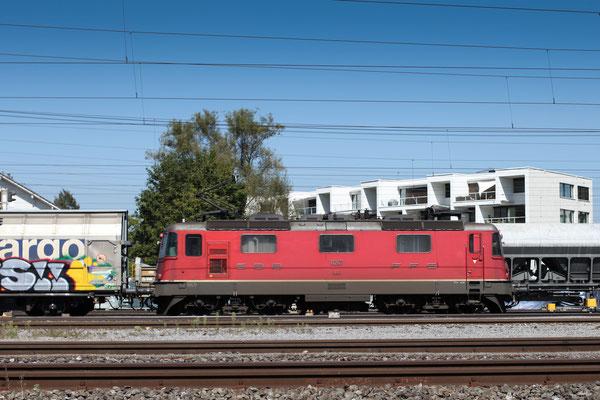 Re 4/4, 11267, Rotkreuz (05.09.2013) ©pannerrail.com