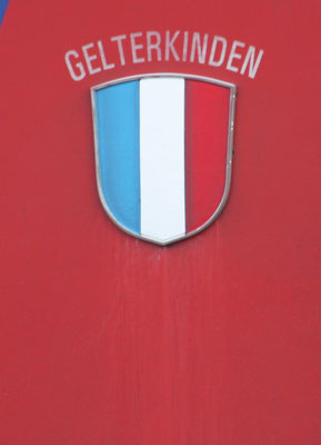 Re 6/6 Gelterkinden Gemeindewappen ©pannerrail.com