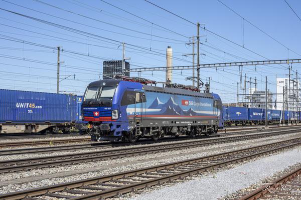 "SBB Cargo International, BR 193 527 ""Main"", Pratteln (31.08.2020) ©pannerrail.com"