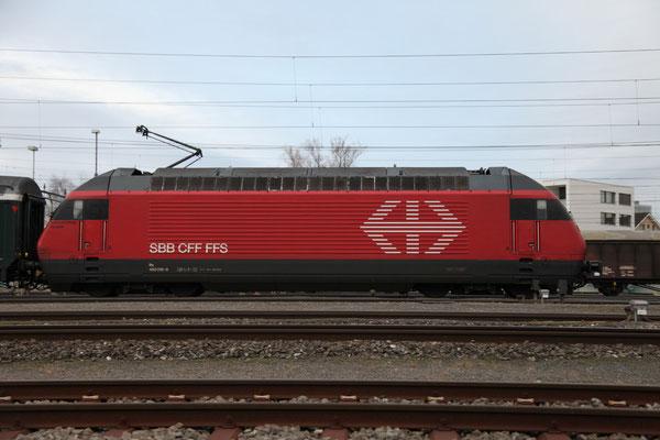 "Re 460 016-9 ""Rohrdorferberg Reusstal"" , Killwangen, 28.12.2012 (©pannerrail.com)"