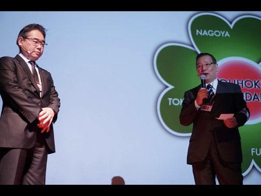 After the break, Mr. Makoto Yamamoto introduced Mr. Koji Sato