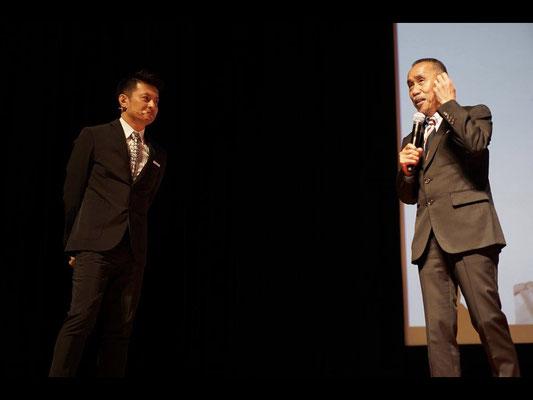 Introduction of Mr. Katsuhiro Hatate from Mr. Shigeo Kataoka