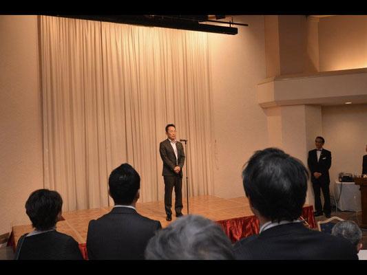 Greetings from Mr. Hiroyuki Munemura