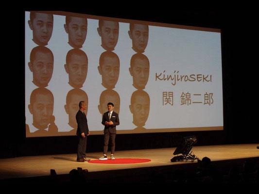 Introduction of Mr. Kinjiro Seki from Mr. Katsuhiro Hatate